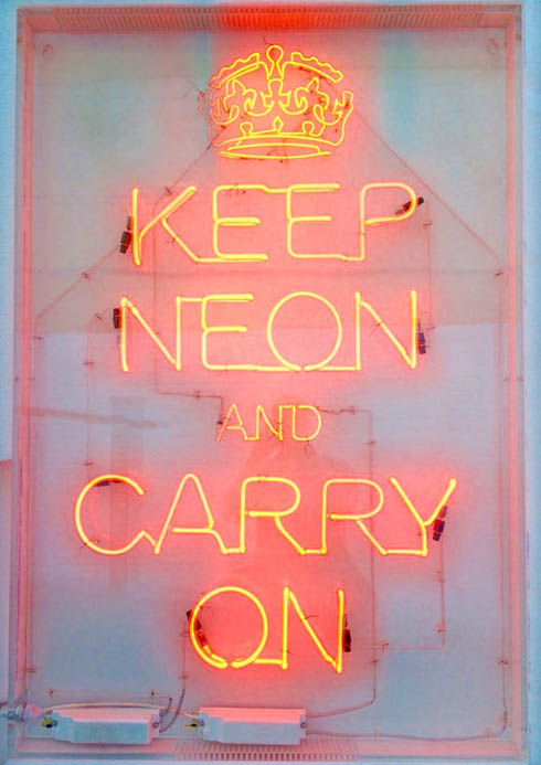 Keep Neon and Carry On